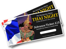 Thai Night tickets